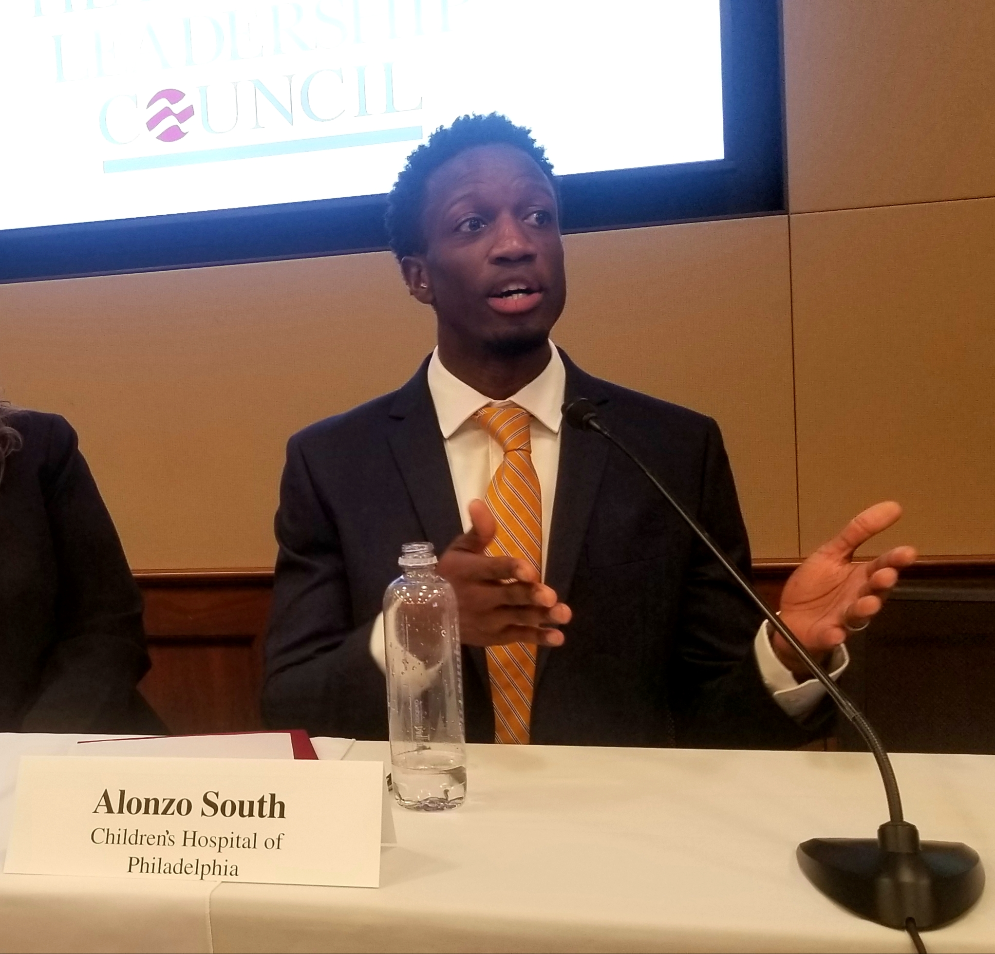 Alonzo South, Senior Director of Community Engagement, Children's Hospital of Philadelphia